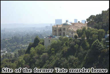The property now standing at the Manson murder house on Ceilo Drive