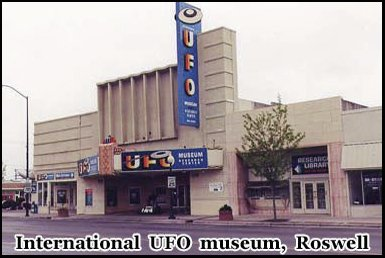 The International UFO Museum, Roswell