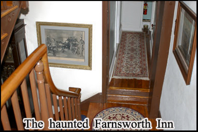 The ghosts of Gettysburg are said to wander the Farnsworth Inn