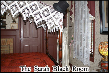 The Sarah Black room in the Farnsworth Inn