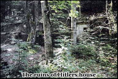 Hitlers mountain retreat was bombed my the R.A.F