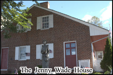 The Jenny Wade house where the battles only civilian death occurred
