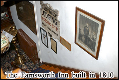 The haunted Farnsworth Inn, Gettysburg, built in 1810