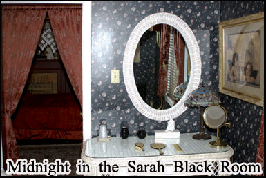 The Sarah Black room is one of the most haunted rooms in the Farnsworth Inn