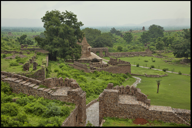 The cursed city of Bhangara now lies in ruins