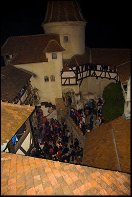 Halloween Party, Bran Castle